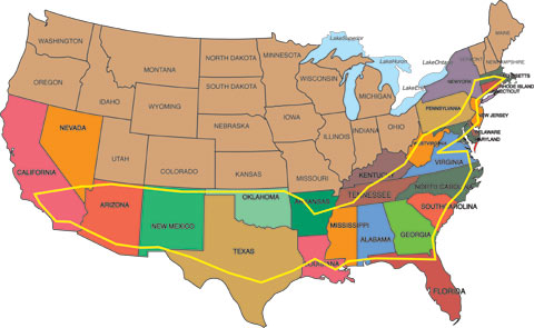 Travel Across The Us In An Rv Two Grannies Itinerary
